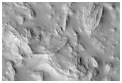 Jumbled Terrain East of Arsia Mons