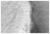 Crater Rim in Southeastern Terra Sirenum
