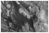 Olivine-Rich Area South of Aeolis Mensae