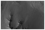 High Thermal Inertia Surface in Valles Marineris