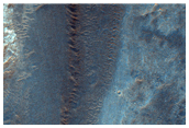 Alluvial Fans in Holden Crater
