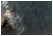 Possible MSL Rover Landing Site: Ariadnes Colles