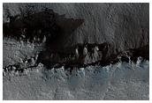 HiRISE Student Image of the Week: Intersection of Hyblaeus and Elysium Chasmata
