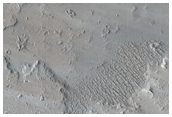 Impact Crater on Flow
