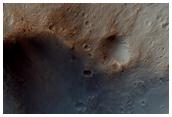 Dejnev Crater Floor