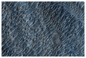 Possible MSL Rover Landing Site - West Candor Chasma
