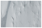 Slope Streak with Topographic Relief Seen in MOC Images