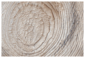Layers Filling Crater in Schiaparelli