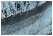 New Bright Gully Deposit in Hellas and Centauri Montes Region
