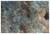 Proposed MSL Site in Mawrth Vallis
