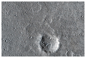 Thermally-Distinct Ray Segment Emanating from Newly-Recognized Rayed Crater