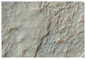Thermally-Contrasted Ejecta and Crater Floor Materials