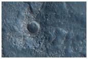 Rough Terrain South of Lyot Crater