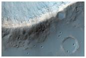 Well-Preserved 7-Kilometer Diameter Unnamed Crater