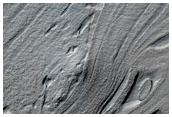 Complex Banded Terrain of Hellas Floor