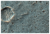 Layered Plains North of Coprates Chasma