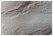 Sirenum Terra Crater Floor Graben and Deposits
