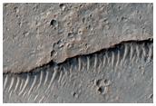Volcanic Structures in Memnonia Fossae