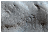 Transition from Elysium Rise to Utopia Planitia