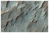 Possible Salt Deposits in Noachis Terra