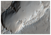 Volcanic Vent East of Pavonis Mons