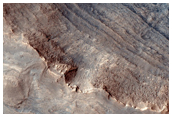 Survey Layering and Faulting in Layered Deposits in Melas Chasma