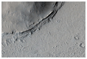 Multiple Terraces Or Layers Around Inselberg in Marte Valles