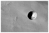 Deep Pit North of Arsia Mons