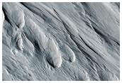 Yardangs Being Eroded Out of Medusae Fossae Cap Rock