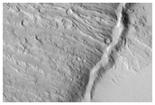 Unravelling Part of Olympus Mons' Geologic History