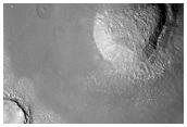 Hills in Arcadia Planitia