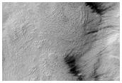 Chaotic Terrain in Hellas Region