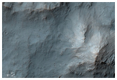 Central Pit and Chaos of A Lage Impact Crater
