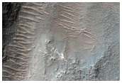 Hale Crater Ejecta Fluvial Modification