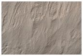 Gullies in Southwest Noachis Region Ring Trough