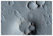 Chains of Cones in Isidis Planitia