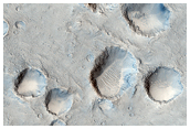 Crater Cluster in Chryse Planitia