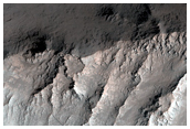 Possible Clays in Wall of Ganges Chasma
