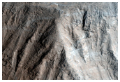 Sample South Wall of Olympus Mons Caldera