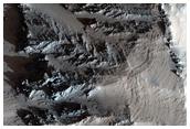 Ophir Chasma Wall Stratigraphy