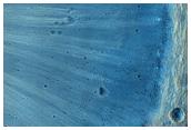 Bright Slope Streaks on Dark Slopes in Bahram Vallis