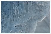 Proposed MSL Landing Site in Miyamoto Crater