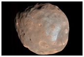Phobos Imaged by HiRISE