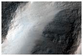 Lobate Debris Apron in Capri Chasma