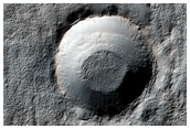 Distal Portion of Ejecta Blanket From Crater in Southern Highlands