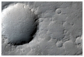 Very Recent Small Impact Crater