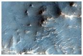 Well-Preserved 15-Kilometer Diameter Crater Near Nili Fossae