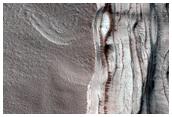 Monitoring of Chasma Boreale Scarp