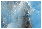 Topographically-Deflected Ejecta in Chryse Planitia