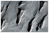 Complex Layered Deposits in Tithonium Chasma